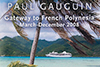 Paul Gauguin Ship in French Polynesia, Travel Brochure